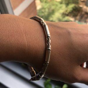 Rare Tiffany & Co SS Zigzag Bracelet